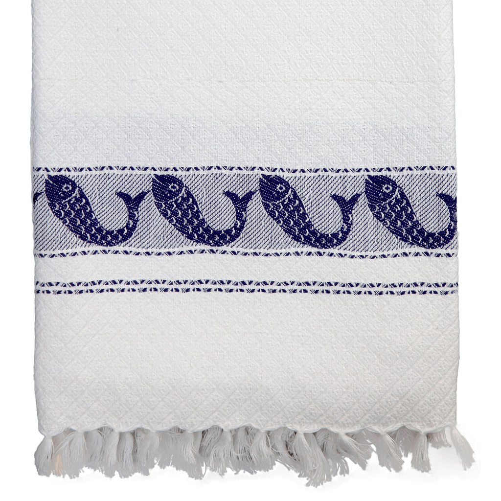 Pisces Towel in Blue