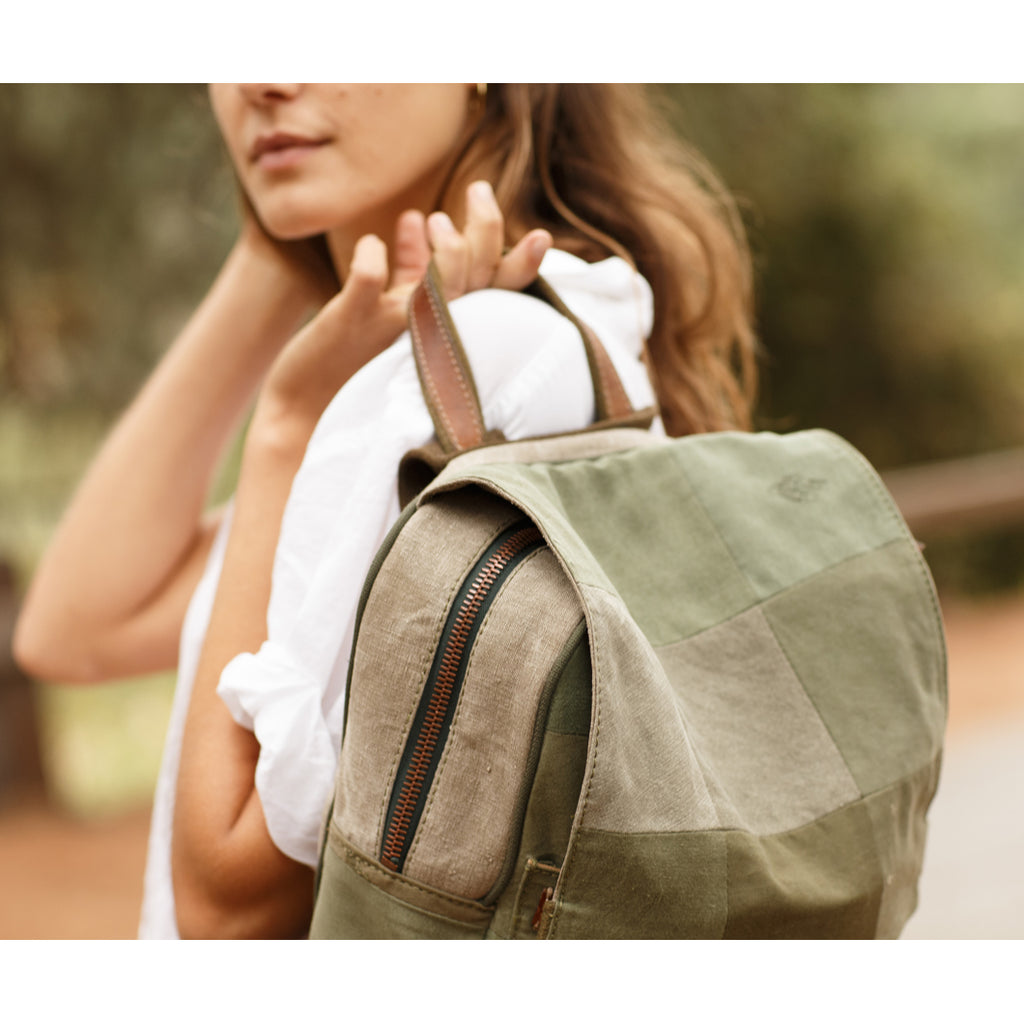 Army Canvas Backpack
