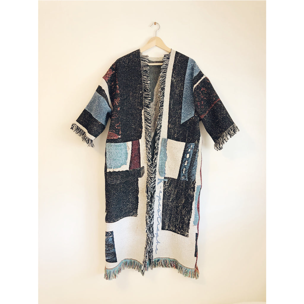 Custom Long Blanket Coat