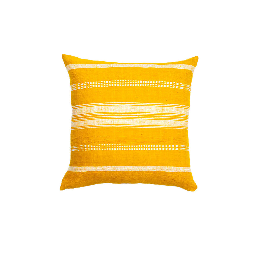 Salem Yellow cushion