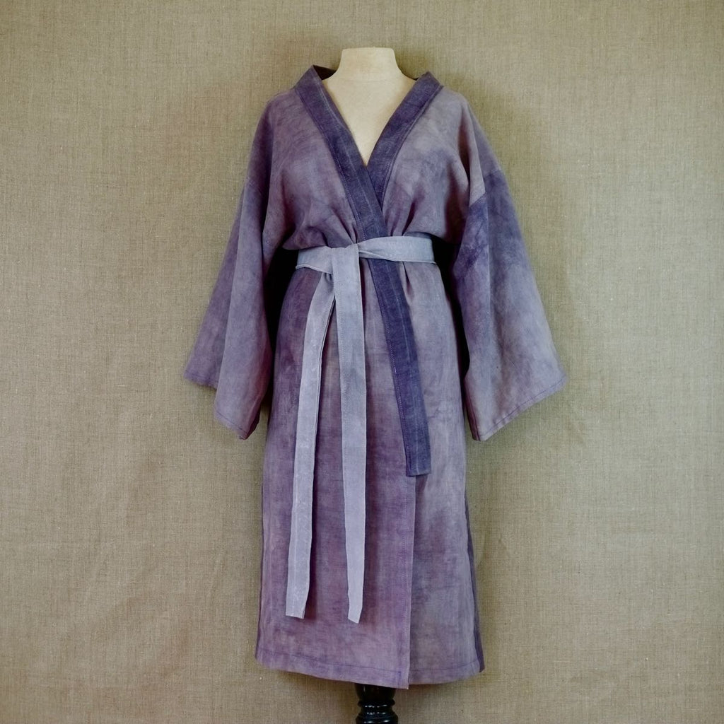 Deep Purple Bathrobe