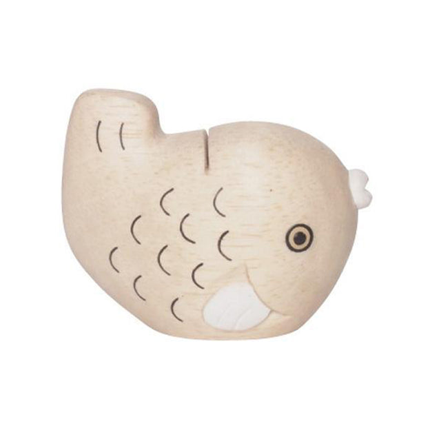 Wooden Engimon Fish By T-Lab