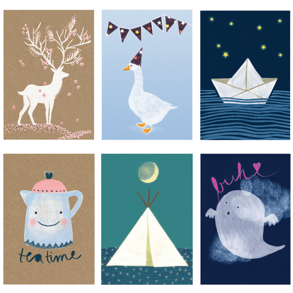 Fairytale Cards by Swiss Illustrator Nina Binkert
