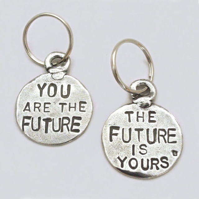 "Keychain Coin ""You are the Future"""