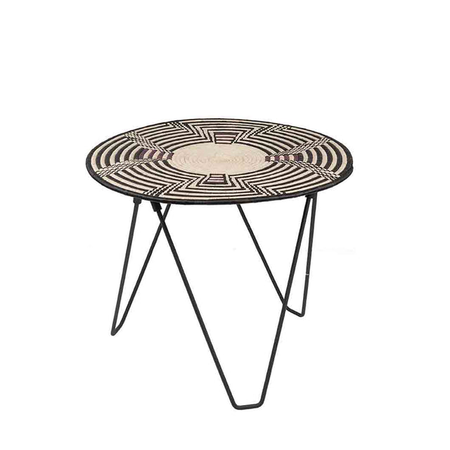 African Raffia Table by Lalibella