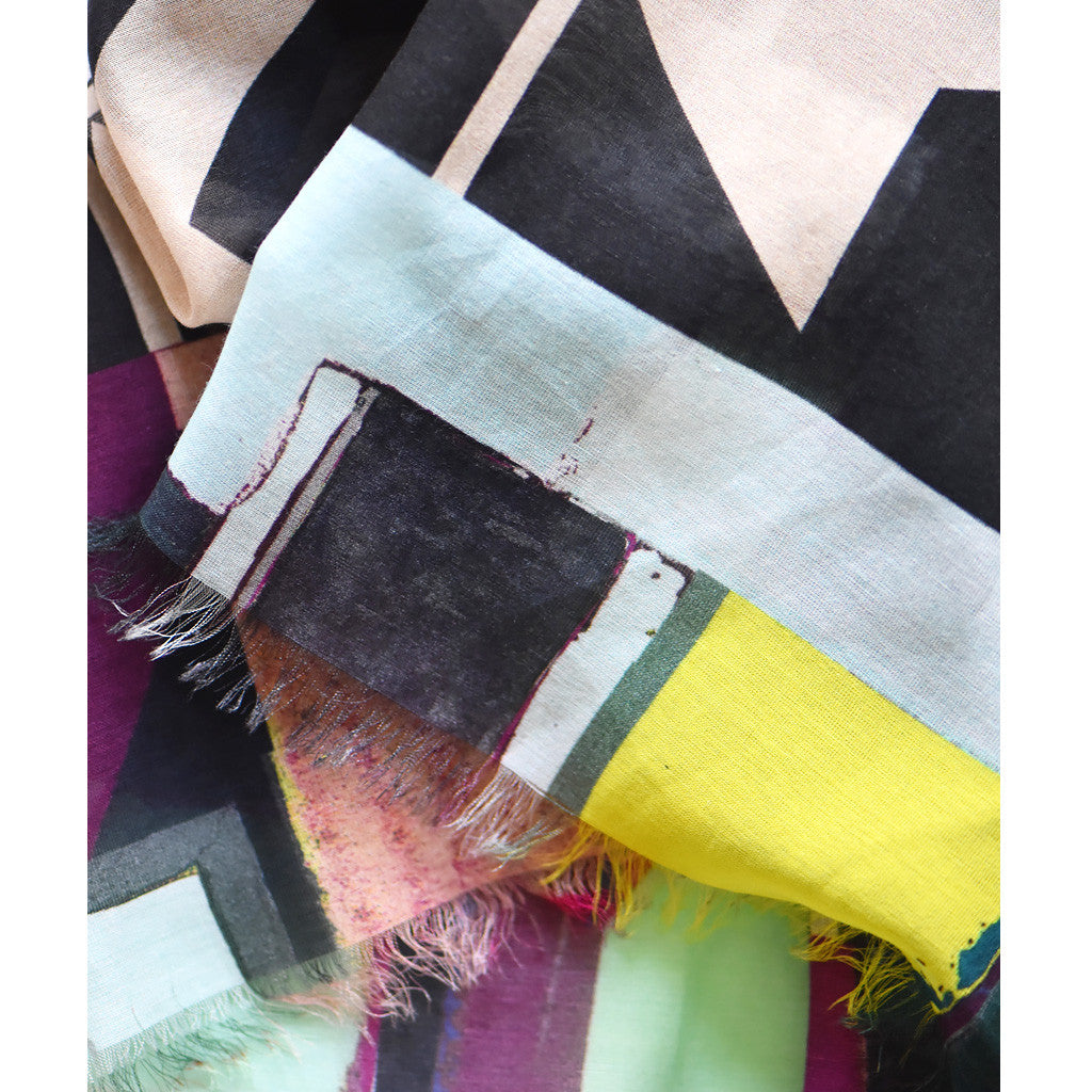 Urban Architectural Lay Out Scarf by Johanna Michel
