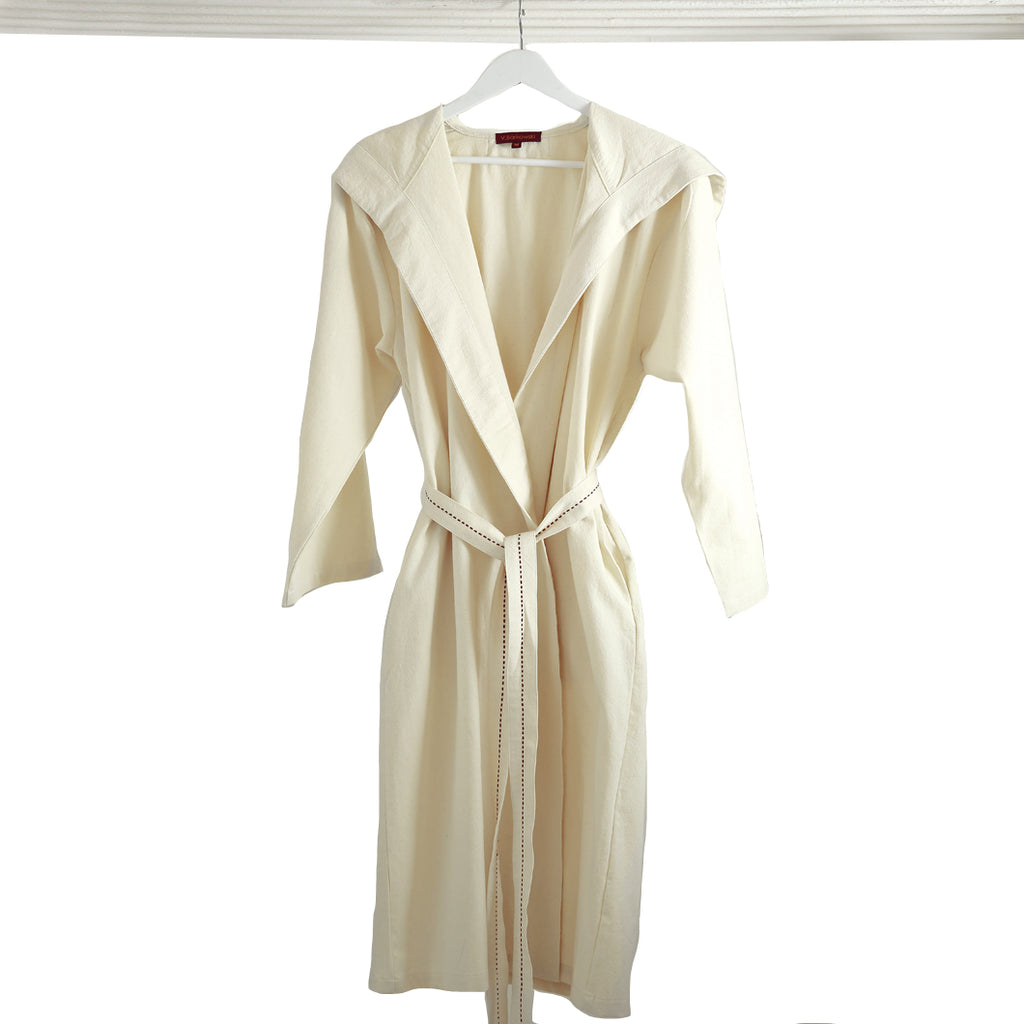 V. Barkowski Off-White Women's Robe
