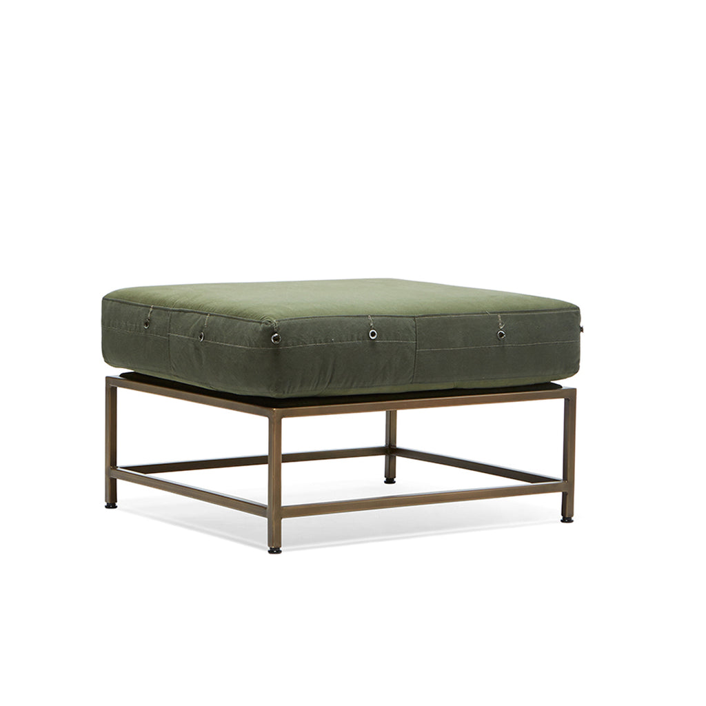 Olive Green Ottoman