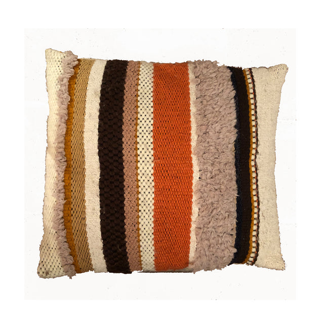 This Handwoven Pillow is designed by Andrew Weaving.