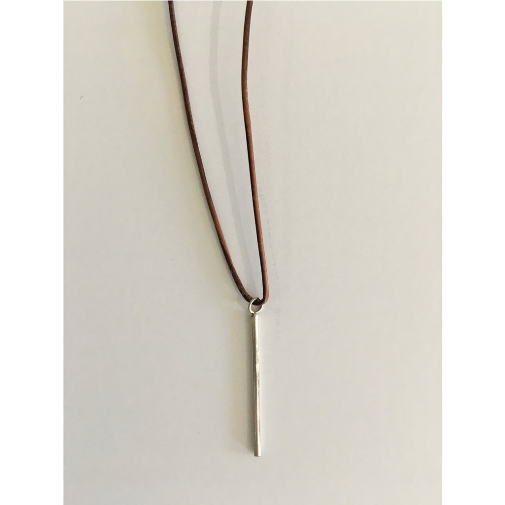 Minimalist Stick Necklace