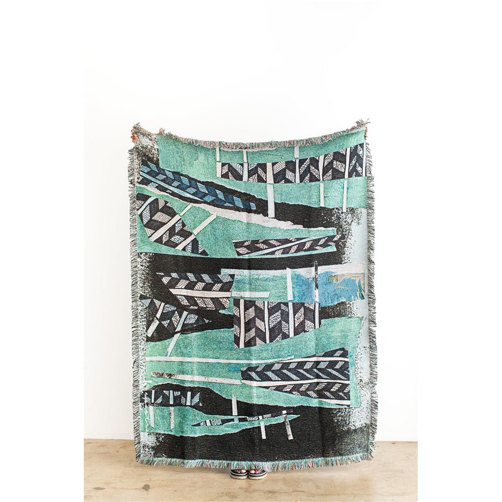 Tiebele Woven Throw