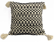 Load image into Gallery viewer, Throw Pillow | Black & Beige