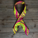 Ankara Print Wired Headband- Tracks