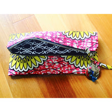 Load image into Gallery viewer, Ankara Print Clutch Handbag- Daisy