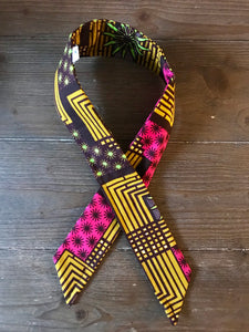 Ankara Print Wired Headband- Amani