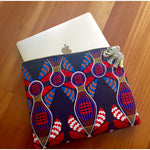 "Ankara Print Laptop Sleeve for 12"" MacBook- Pinned"
