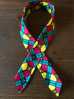 Ankara Print Wired Headband- Mkali