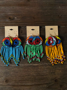 Masai Fringe Earrings