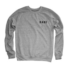 Load image into Gallery viewer, BABE  Long Sleeve T-shirt