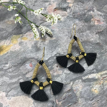 Load image into Gallery viewer, Nira Fringe Earrings