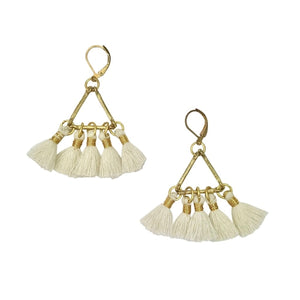 Lola Fan Earrings