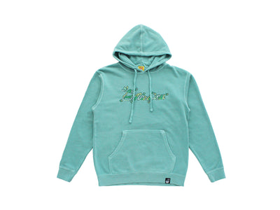 CURSIVE PATCH HOODIE Release