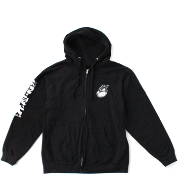 Nora Inu Zip-up (BLACK)