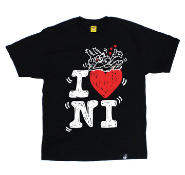 I LOVE NORA INU (BLACK)
