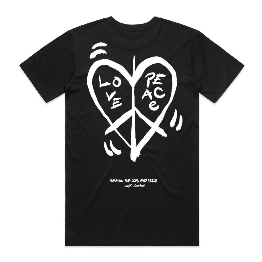 Nora Inu for Love and Peace (Black)