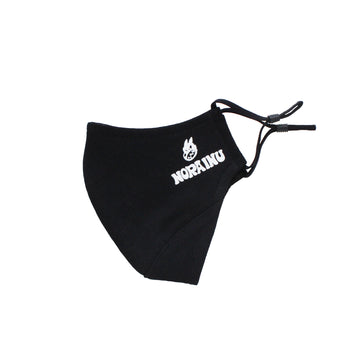 Nora Inu Logo Face Mask (BLACK)