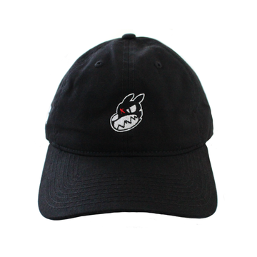Nora Inu Logo Dad Hat (BLACK)