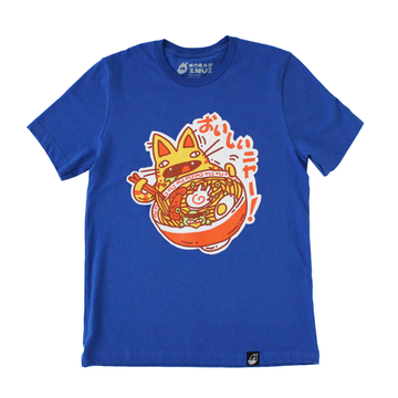 Ramen Cat (ROYAL BLUE)
