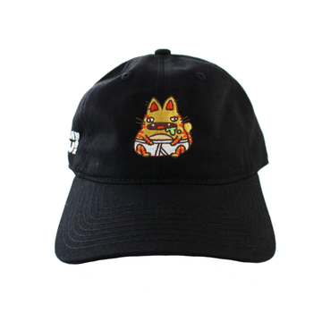 Pantsu Neko Dad Hat (BLACK)