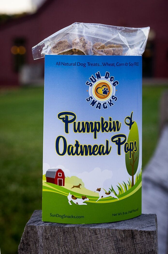 Pumpkin & Oatmeal Pops - 8 oz. (Half Pound)