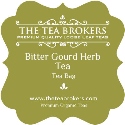 Bitter Gourd Tea (Organic) - The Tea Brokers