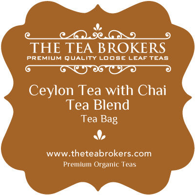 Ceylon Chai Tea - The Tea Brokers