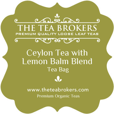 Ceylon Tea with Lemon Balm - The Tea Brokers