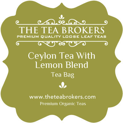 Ceylon Tea with Lemon - The Tea Brokers