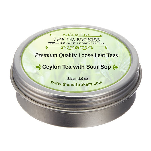 Ceylon Tea with Sour Sop - The Tea Brokers