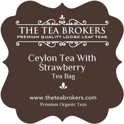 Ceylon Tea with Strawberry - The Tea Brokers