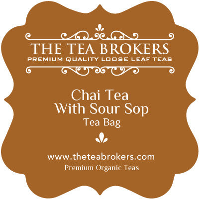 Chai Tea with Sour Sop - The Tea Brokers