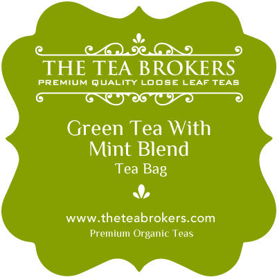Green Tea with Mint - The Tea Brokers