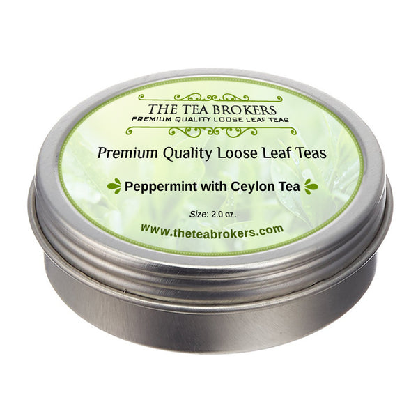 Peppermint with Ceylon Tea - The Tea Brokers