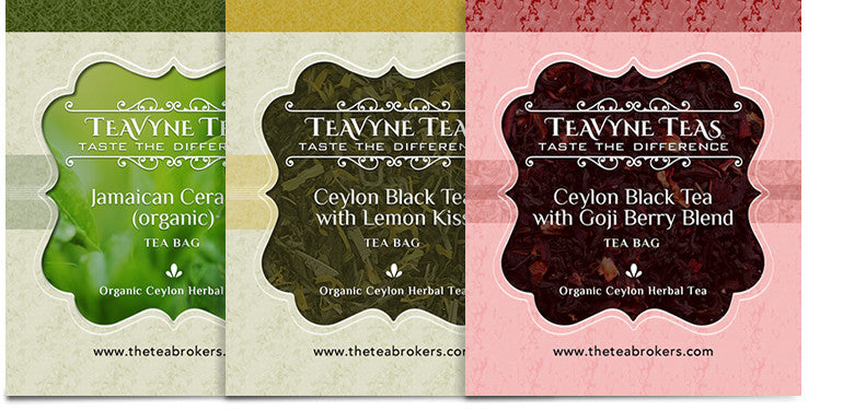 Tea Bags Variety Box - The Tea Brokers