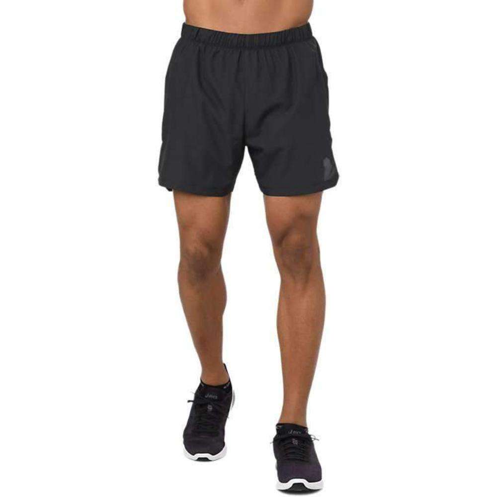 Asics Men's Cool 2-N-1 5inch Shorts - BlackToe Running Inc. - Toronto Running Specialty Store