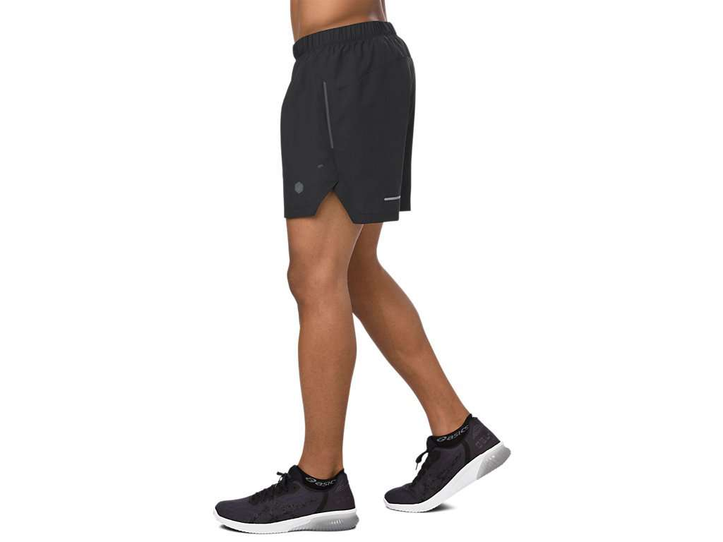 a5fcdfa380c Asics Men's Cool 2-N-1 5inch Shorts - BlackToe Running Inc.