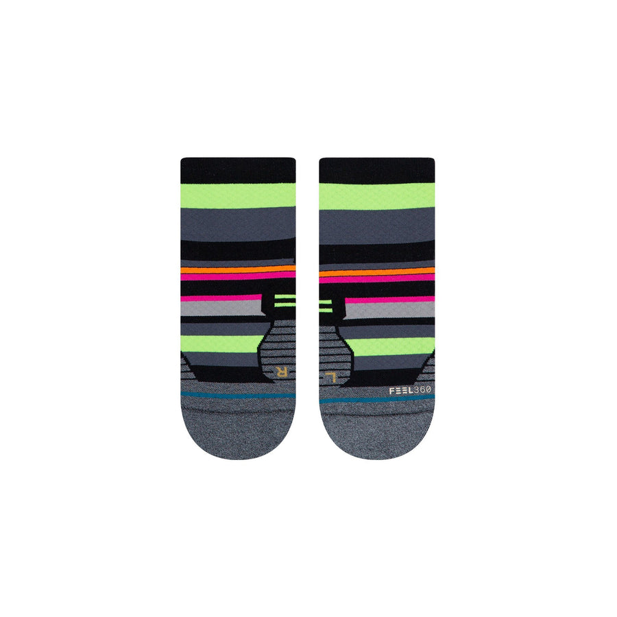 Stance Women's Run Tiled - QTR - BlackToe Running Inc. - Toronto Running Specialty Store