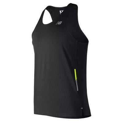 New Balance Men's NB Ice 2.0 Singlet - BlackToe Running Inc.