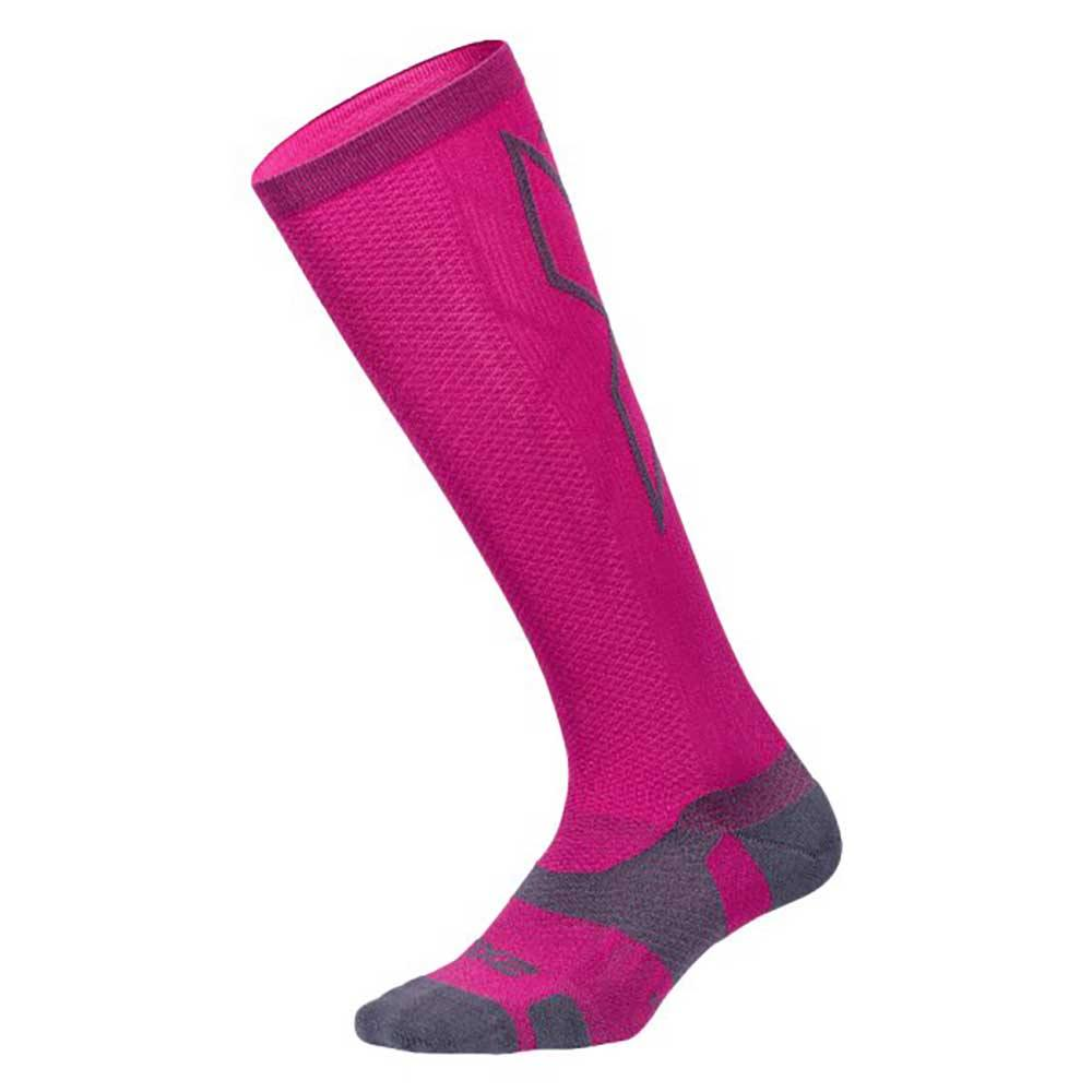 2XU Vector Light Cushion Compression Socks - BlackToe Running Inc. - Toronto Running Specialty Store