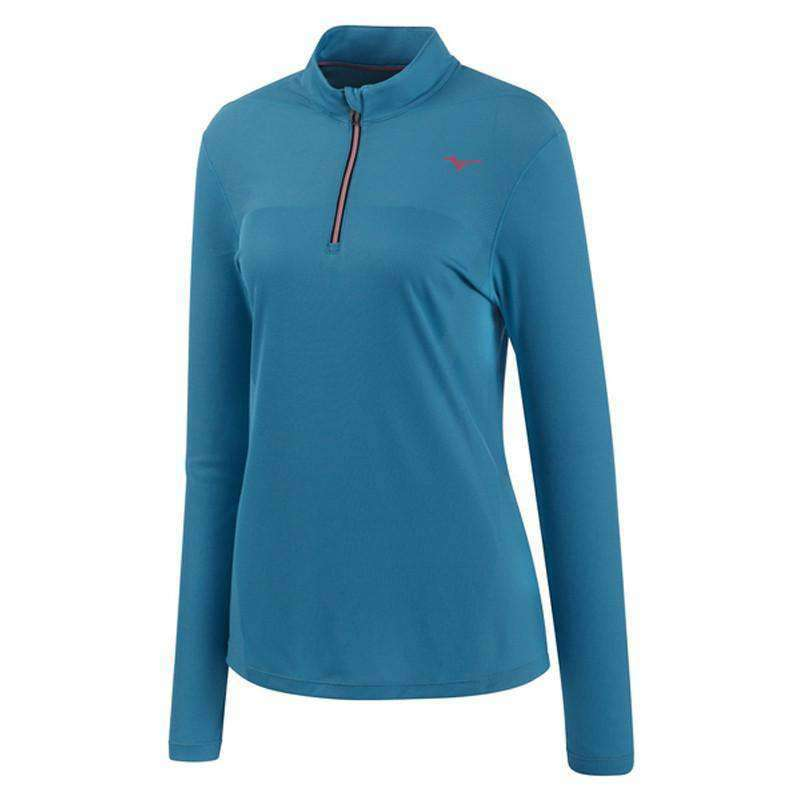 Mizuno Women's Autumn 1/2 Zip - BlackToe Running Inc. - Toronto Running Specialty Store
